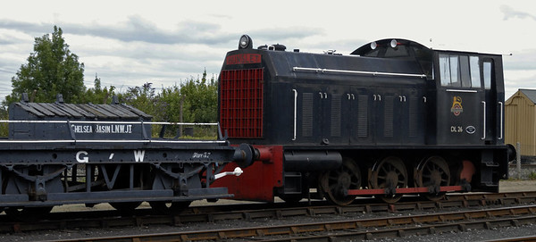DL26, Didcot, Sat 24 July 2010      Ex NCB diesel mechanical 0-6-0 (Hunslet 5238 / 1962).