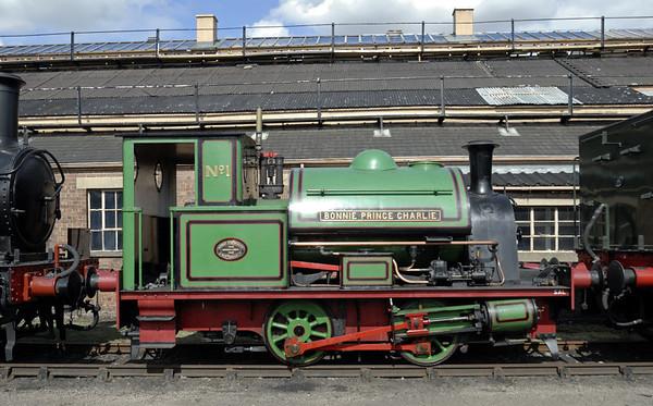 No 1 Bonnie Prince Charlie, Didcot, Sat 24 July 2010.  Robert Stephenson & Hawthorns 7544 / 1949