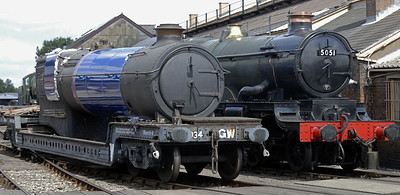 Didcot Railway Centre, 2010: 6023 King Edward II
