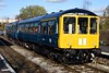 Class 104 DMU, 2J60, Ramsbottom, Sun 5 November 2017 - 1318 1.  Birmingham RCW DMCL 50517 leads the 1305 Rawtenstall -  Heywood.