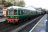 Class 109 & 104 DMUs, 2J59, Bury, Sun 5 November 2017.  Wickham DTCL 56121 (nearest) & DMBS 50416 stand on arrival with the 1145 from Heywood.  The Wickham DMU was visiting from its Llangollen base.