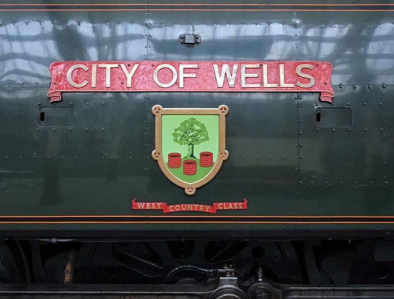 34092 City of Wells, Bury Bolton Street, Sun 12 March 2017.
