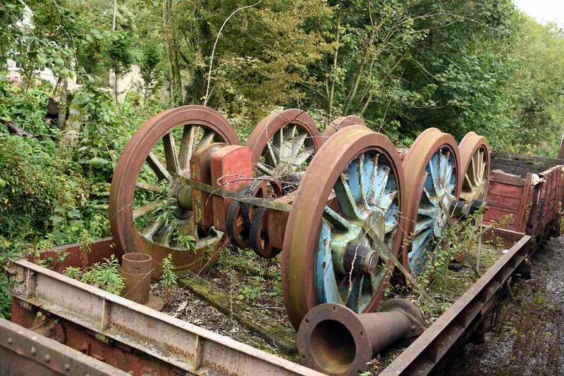 No 1, Merryfield Lane siding, 6 September 2017 1.  Robert Stephenson & Hawthorns Newcastle 0-6-0T 7609 / 1950.