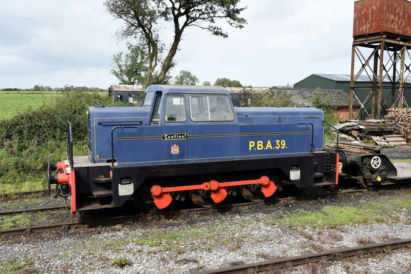 PBA 39, Cranmore West, 6 September 2017 1.  Port of Bristol Authority Rolls Royce Sentinel 0-6-0DH 10218 / 1965.