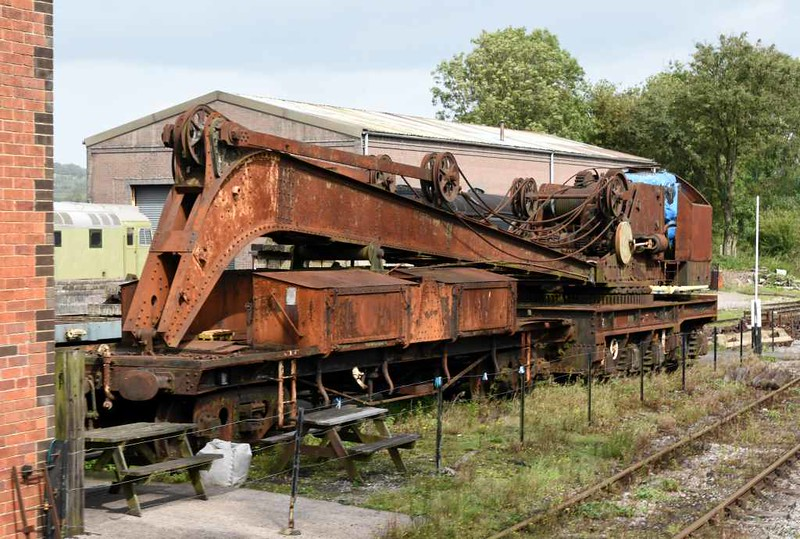 Great Western Railway 36 ton breakdown crane No 2, Cranmore West, 6 September 2017 2.