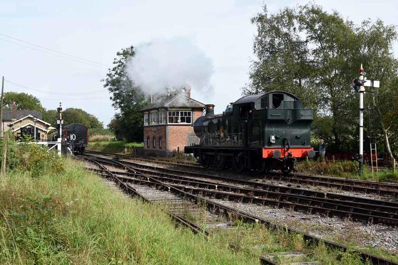 5637, Cranmore station, 6 September 2017.