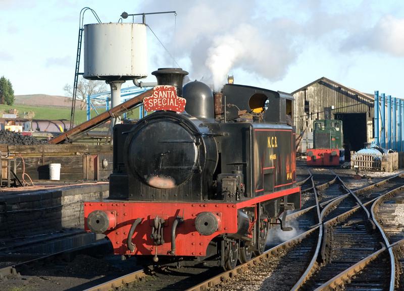 NCB No 140, Embsay, 16 December 2006 1.  Hudswell Clark 1821 / 1948.