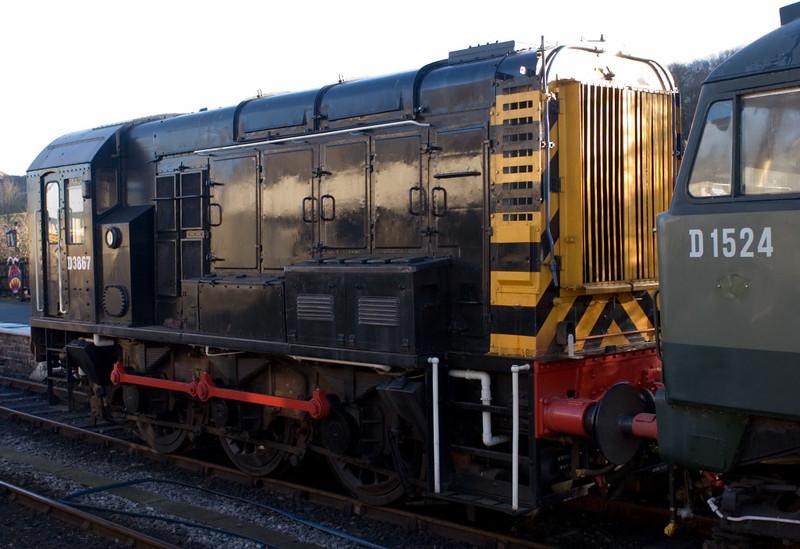 D3867 (08700), Embsay, 16 December 2006