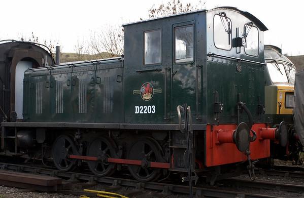 D2203, Embsay, 16 December 2006