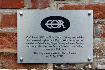 Epping Ongar Railway, 2015