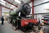 4979 Wootton Hall, Preston Riversway, Sun 17 April 2016 1.  The Furness Railway Trust's GWR loco moved to the RSR in October 2014 from Appleby, where it had been stored since 2007.  Work has now begun to restore it to working order in the Trust's new workshop.