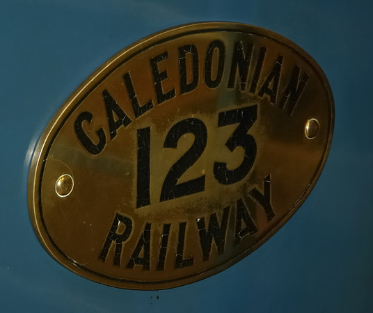 Caledonian Rly No 123, Glasgow Transport Museum, 27 November 2004 7.