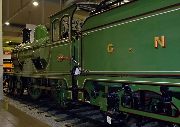 Great North of Scotland Rly No 49 Gordon Highlander, Glasgow Transport Museum, 27 November 2004 5.