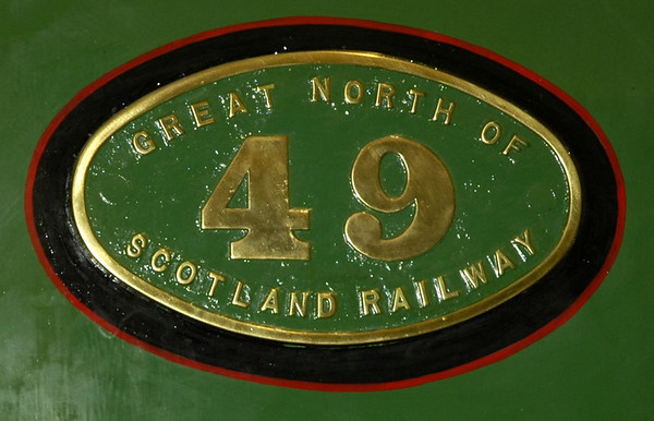 Great North of Scotland Rly No 49 Gordon Highlander, Glasgow Transport Museum, 27 November 2004 4.