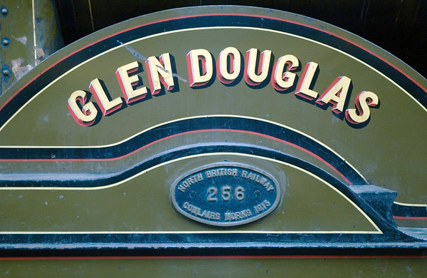 North British Rly No 256 Glen Douglas, Bo'ness, 15 July 2007 2.