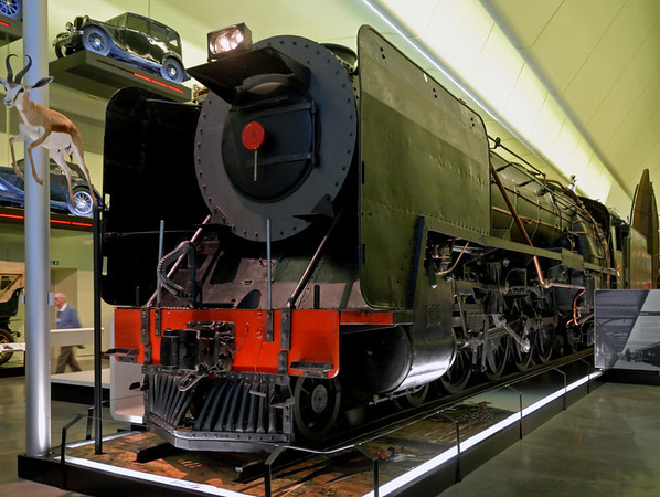 South African Rlys No 3007, Riverside Museum, Glasgow, Sat 19 November 2011 1.  The 3ft 6in gauge class 15F 4-8-2 was built in Glasgow in 1945 by North British.