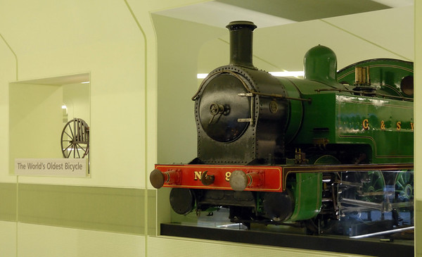 Glasgow & South Western Rly 0-6-0T No 9, Riverside Museum, Glasgow, Sat 19 November 2011 1.  Bult in Glasgow in 1917 by North British.