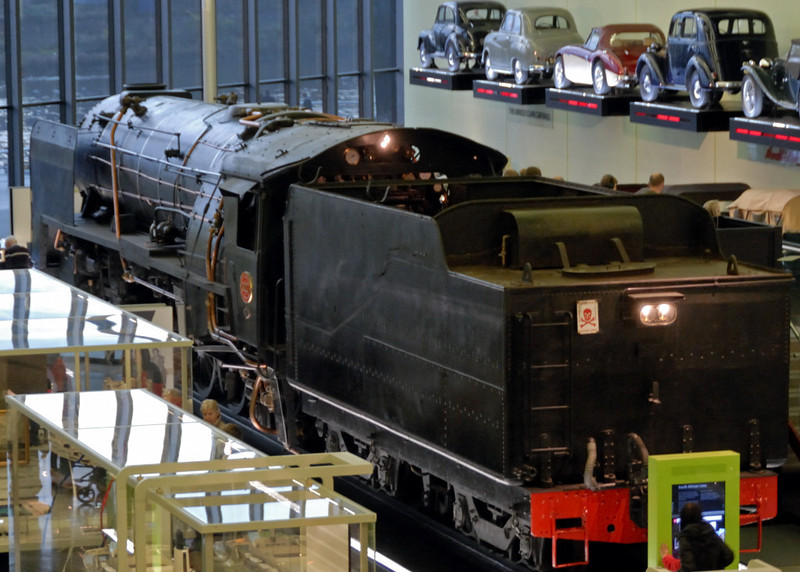 South African Rlys No 3007, Riverside Museum, Glasgow, Sat 19 November 2011 4.