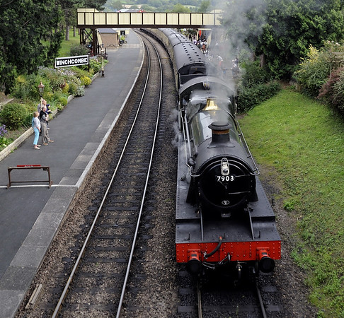 7903 Foremark Hall, Winchcombe, Sat 1 September 2012 2 - 1435.  Ready to depart with the 1435 back to Cheltenham...
