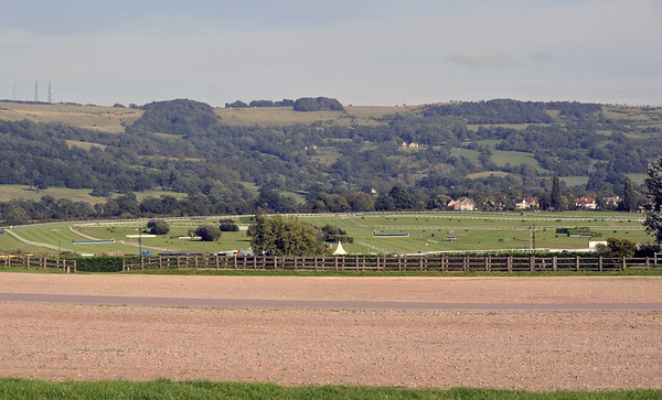 Welcome to Cheltenham racecourse!  Sat 1 September 2012.  The home of the Gold Cup...