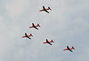 Red Arrows, Winchcombe, Sat 1 September 2012 - 1500 2.  ...and here is the second formation.