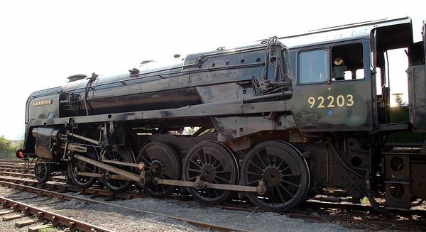 92203 Black Prince, Toddington, 31 May 2006