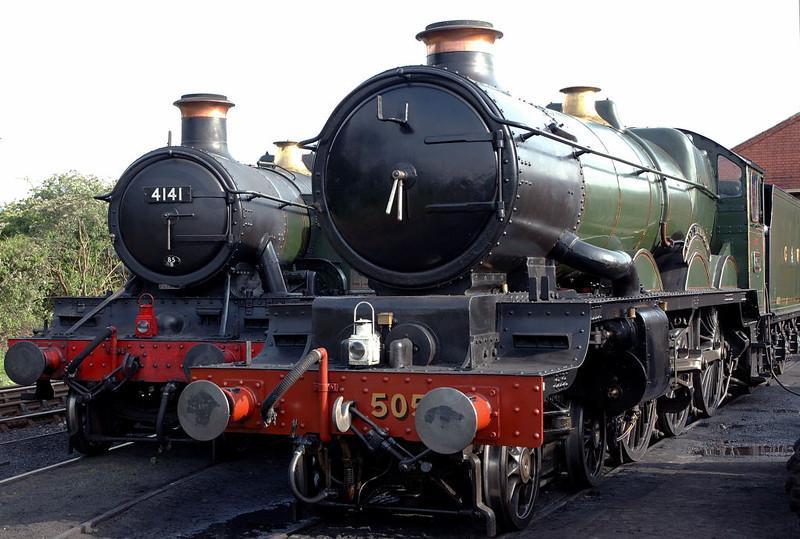 4141 & 5051 Earl Bathurst, Toddington, 31 May 2006