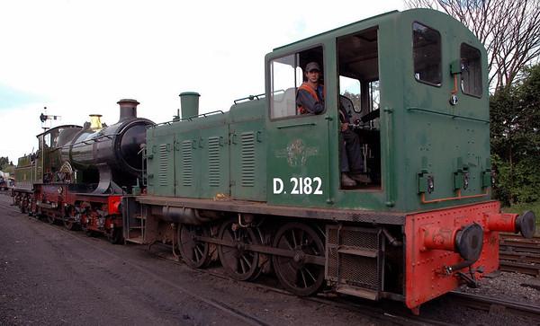 3440 City of Truro & D2182, Toddington, 31 May 2006