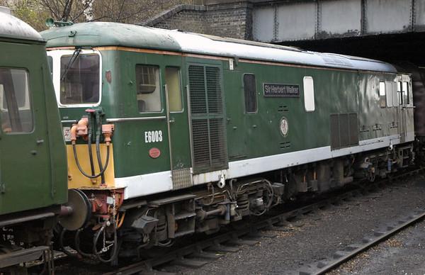 E6003 Sir Herbert Walker (73003), Loughborough, 30 January 2005
