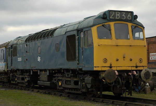 25265 (D7615), Quorn & Woodhouse, 30 January 2005
