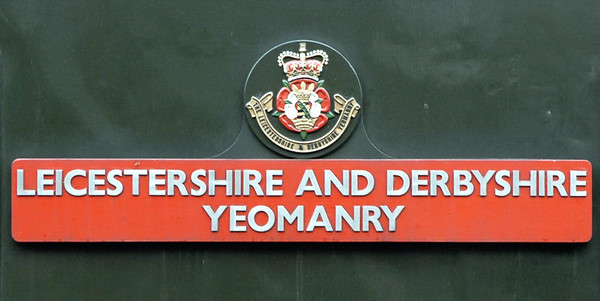 D123 Leicestershire and Derbyshire Yeomanry (45125), Loughborough, 30 January 2005