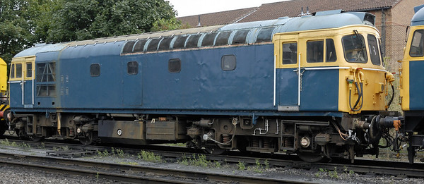 33116 [D6535], Loughborough, Sun 15 Aug 2010     This loco is part of the national railway collection.