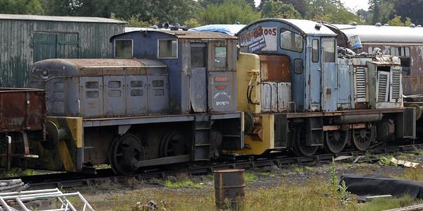 Arthur Wright & 07005, Swithland, Sun 15 Aug 2010    Arthur Wright is J Fowler 4210079 / 1952.