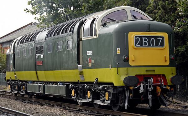D9009 Alycidon, Loughborough Central, Sun 15 Aug 2010 - 1136 2