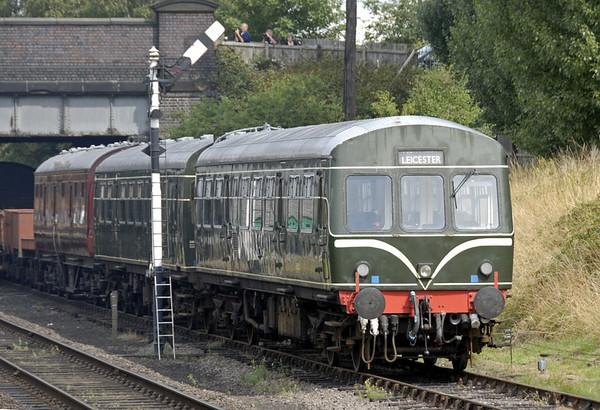 E50321 & E51427, Loughborough Central, Sun 15 Aug 2010    Previously Sandite and route learner 960993.