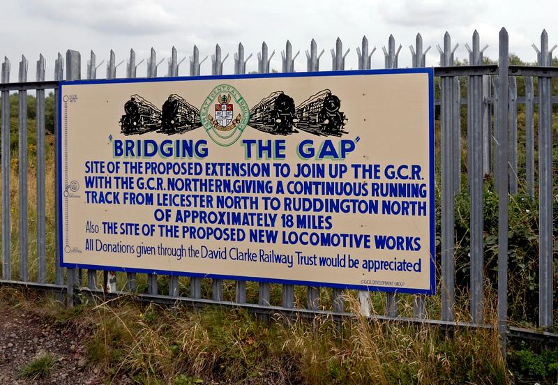 The Loughborough gap, Loughborough, Sun 15 Aug 2010 2.  Still the ambition in 2018....