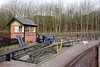 Miniature railway, Nottingham Transport Heritage Centre, Ruddingoton,Sun 18 February 2018.