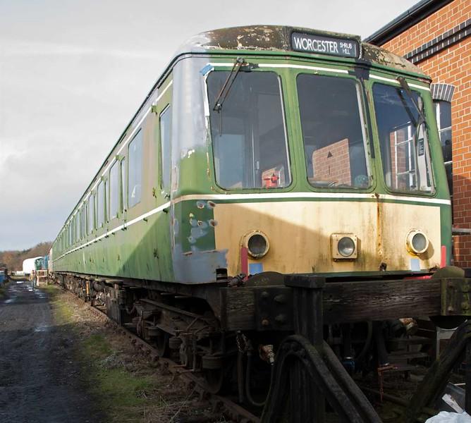 W 51151, Ruddington, Sun 18 February 2018.  Class 116 DMS.