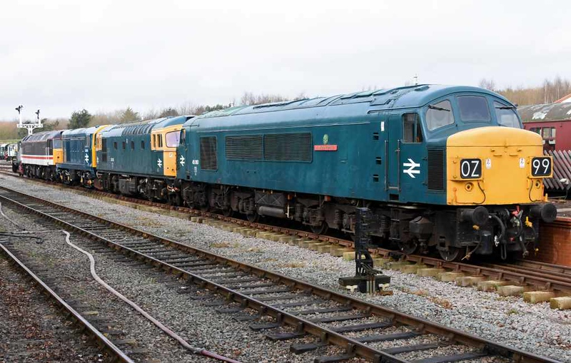 45060 Sherwood Forester, 33025, D8154 & 47828 Ruddington, Sun 18 February 2018.