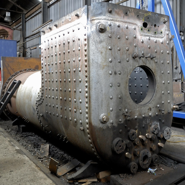 Unidentified boiler, Loughborough, Sun 15 Aug 2010