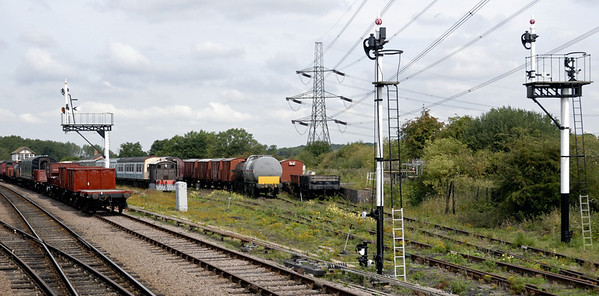 Swithland sidings, looking north, Sun 15 Aug 2010
