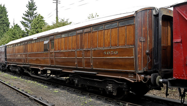 LNER 4050, Loughborough, Sun 15 Aug 2010      Pigeon van (BGP) built at York in 1941.