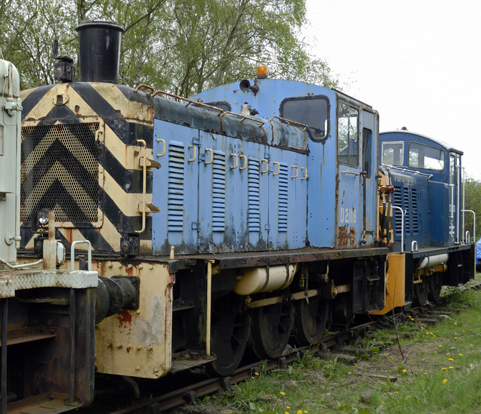 Class 03 D2118,  Rowsley South, Sun 9 May 2010