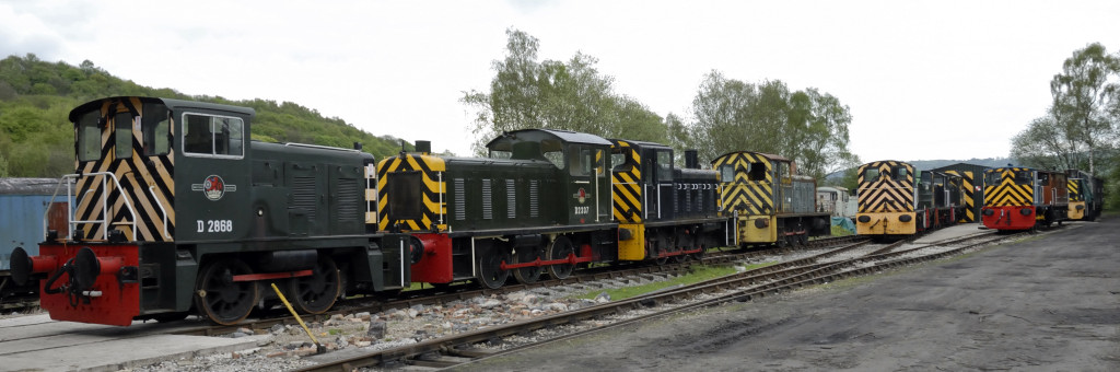 Heritage Shunters Trust yard, Rowsley South, Sun 9 May 2010