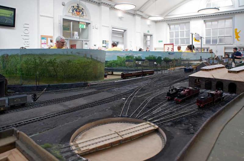 Green Ayre loco shed model, Lancaster, 2 May 2016 2
