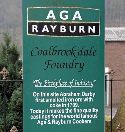 Coalbrookdale Foundry, Coalbrookdale, 13 December 2012.  Still in business!