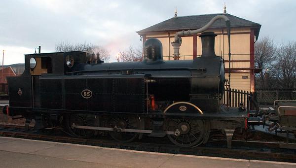 Taff Vale No 85, Keighley, Sun 20 February 2005 2