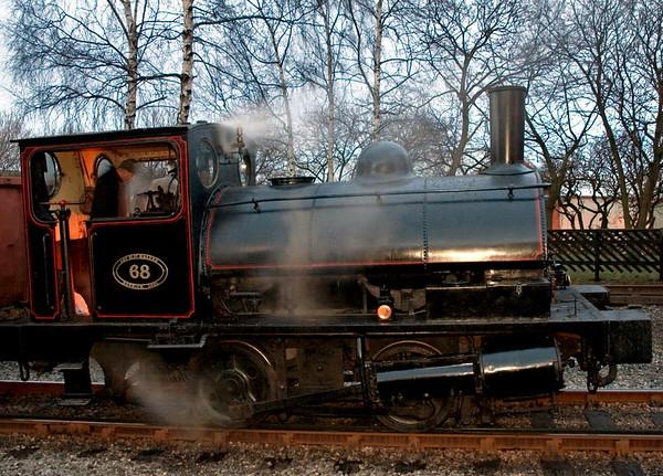 LYR No 68 (51218), Keighley, Sun 20 February 2005 - 1743 1