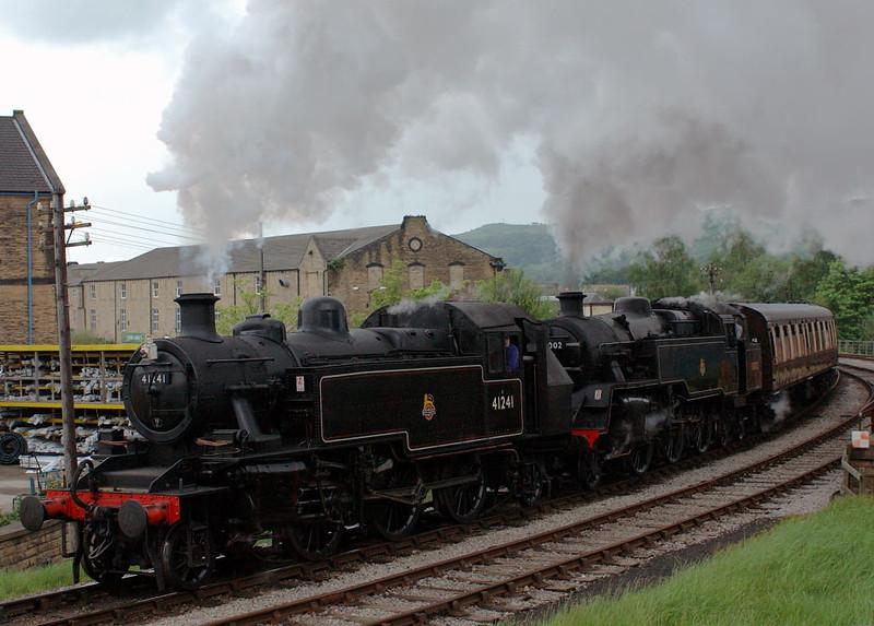 41241 & 80002, Keighley, Sat 20 May 2006 3 - 1811