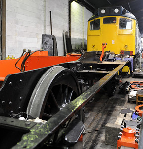 Keighley & Worth Valley Railway museums, 2012